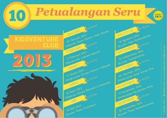 poster 2013 kidsventureclub